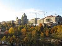 Bundeshaus von der Kirchenfeldbrücke