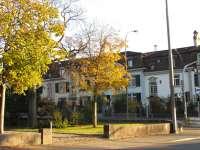 Aegertenstrasse - Blick auf Kirchenfeldstrasse