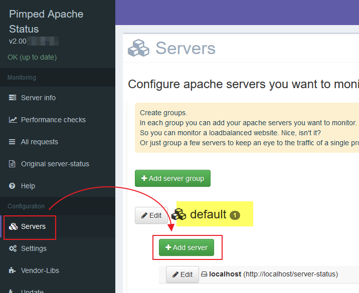 Pimped Apache status :: Get started